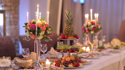 Romantic Decor Banquet Table
