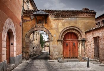 Calle de Velarde / Segovia