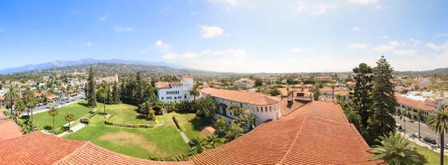 Panorama of Santa Barbara
