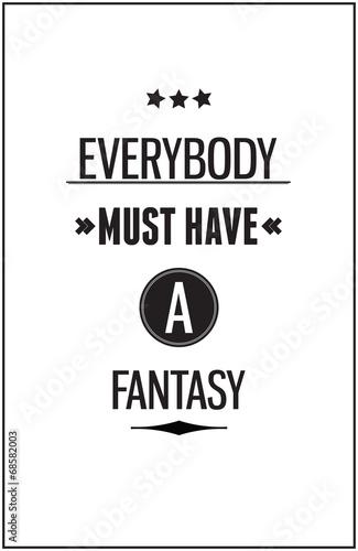 Fototapeta Vintage motivational typography poster for Inspirational