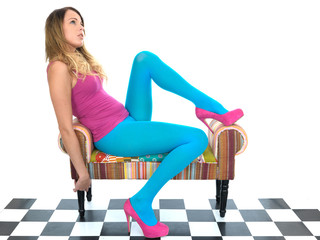Attractive Young Woman Relaxing