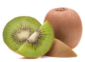 Sliced kiwi fruit segment