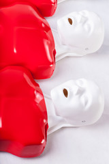 Dummies using to learning of resuscitation