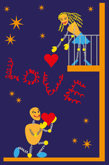 balcony romance