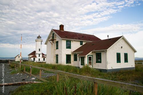 Point Wilson Lighthouse Puget Sound Fort Wordon