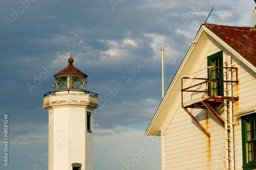 Point Wilson Lighthouse Puget Sound Fort Worden