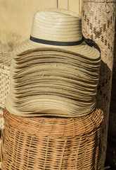 Mexican straw hats