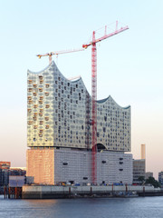 Elbphilharmonie in the Evening