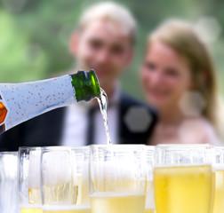 Couple et Champagne