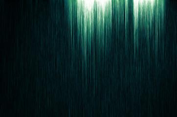 Streifen Schwarz Grün-Blau