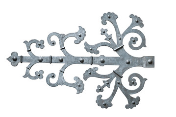 Decorative door hinge