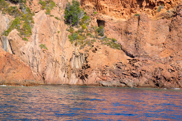 Scandola Nature Reserve, UNESCO World Heritage site, Corsica, Fr