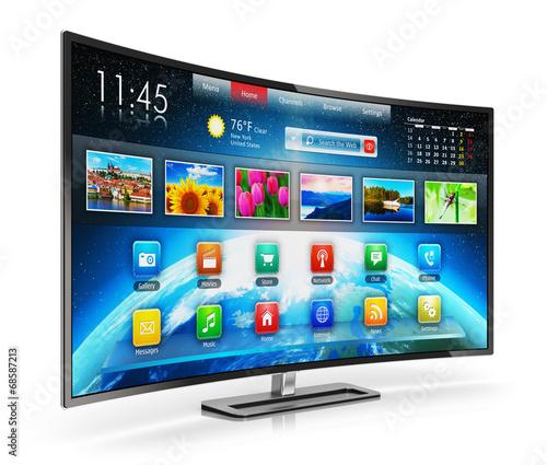 canvas print picture Smart TV