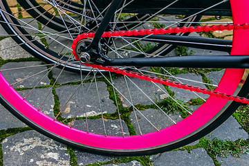 Bicycle detail 3