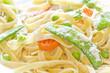 Obrazy na płótnie, fototapety, zdjęcia, fotoobrazy drukowane : Fettuccine Alfredo Vegetables