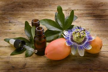 Passiflora caerulea Passion flowers Passionsblumen שעונית