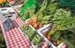 Organic produce at Farmers' Market