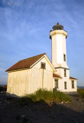 Point Wilson Nautical Lighthouse Puget Sound Fort Worden