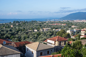 Lefkada houses