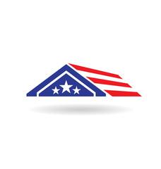 USA house image logo