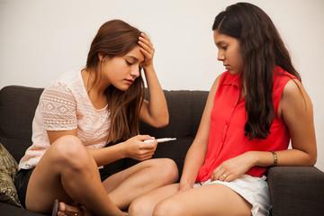Worried teen got pregnant