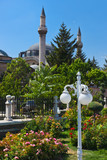 Mevlana Museum and Mausoleum at Konya Turkey poster