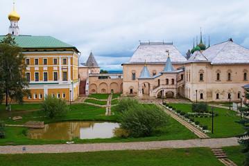 kremlin rostov city. russia
