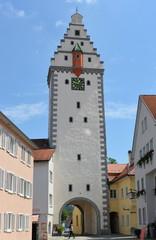 Das Wurzacher Tor Stadttor von Bad Waldsee