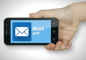 Mail app. Mobile