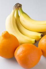 オレンジとバナナ
