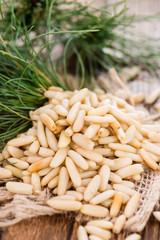 Some fresh Pine Nuts