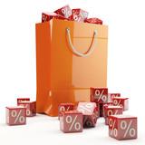 Fototapety Sales Bag