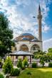 canvas print picture - Mustafa Pasha mosque