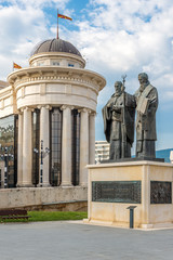 Sculpture Ss. Cyril and Methodius