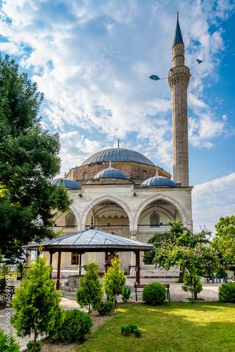 canvas print picture Mustafa Pasha mosque