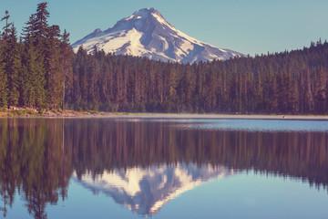 fototapeta góra Hood