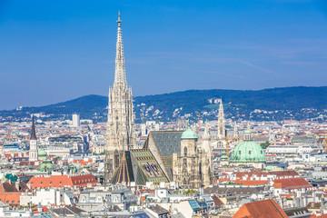 Vienna city centre and Stephansdom