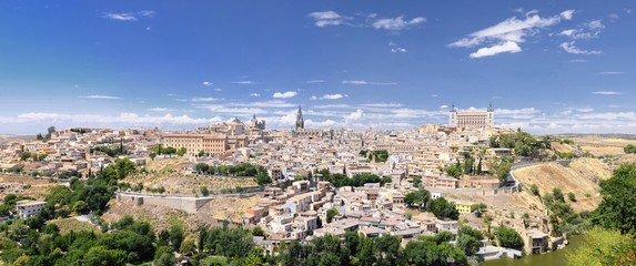 View of Toledo city.