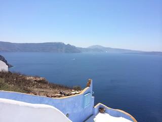Paesaggio Santorini