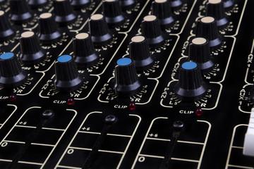 Mixer Close-up