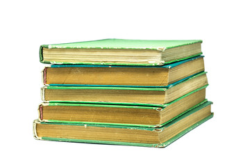 Old green books