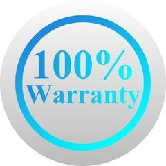 Warranty icon (vector)