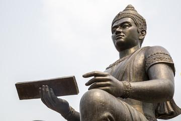 Sukhothai - Historischer Park - King Ramkhamhaeng Monument