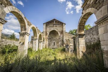 Resti di un'antica chiesa