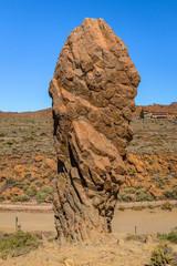 One of the Roques de Garcia, rock formation near Teide volcano