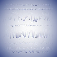 Abstract lines vector.