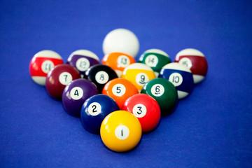 Billards pool game
