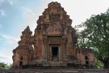 History of Hindu God castle of Thailand