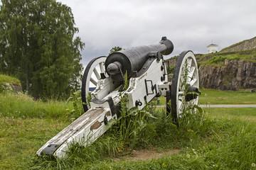 Kanone in Halden