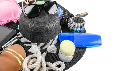 Beach Items Still Life